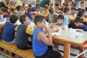 παιδικές κατασκηνώσεις kinderland τραπεζαρία